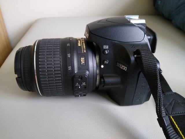 Nikon D3200 +flash circular - Foto 2