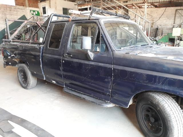 Ford F100 94 Diesel cabine estendida - Foto 6