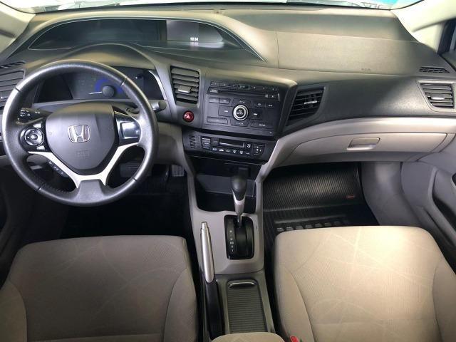 Honda Civic Lxs 1.8 Flex Automático Completo - 2015 - Foto 5