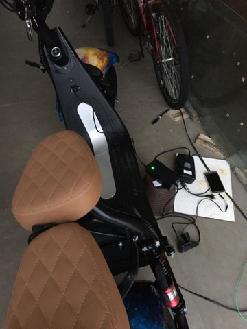 Capa de chuva para scooter elétrica  - Foto 16