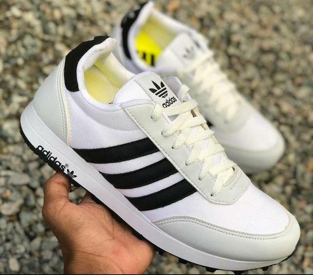 Tênis Adidas Neo White