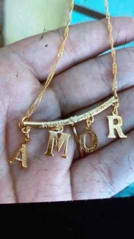 Cordões folheados a ouro - Foto 4