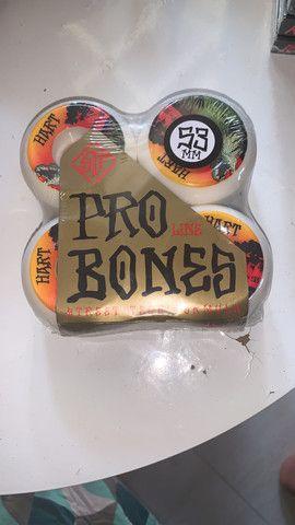Roda Bones Skate - Foto 2