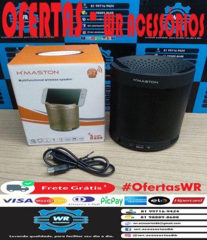Caixa De Som Bluetooth Q3 + Brinde e Entrega Grátis - Foto 6