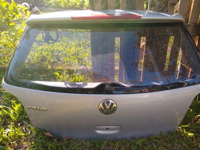 Portas e capo traseiro de polo hatch 2006 $ 700,00 TUDO - Foto 3