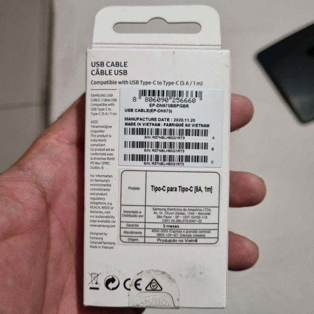 Cabo Original Samsung Super Fast Charging  Usb C X Usb C  - Foto 2