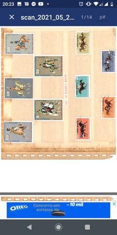 Coleção de selos - Foto 2