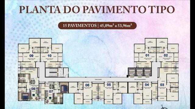 VG - Apartamento 02 quartos Wimbledon - Boa Viagem - Foto 2