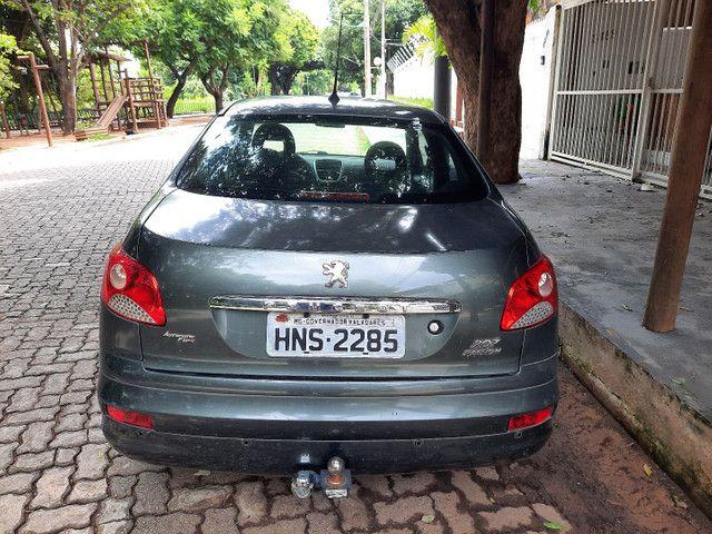 Peugeot 207 passion 1.6 automático ipva 2021 pago - Foto 2