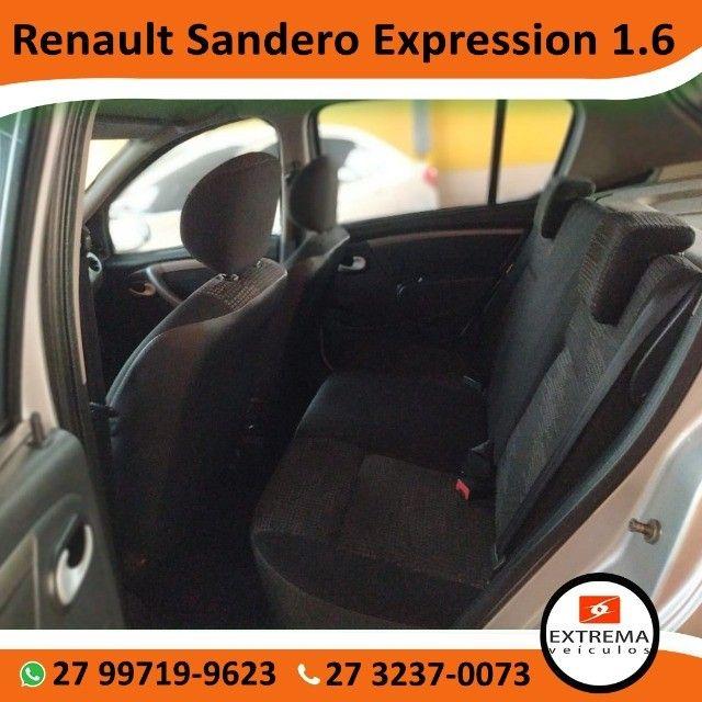 Renault Sandero Expression 1.6 - Foto 10