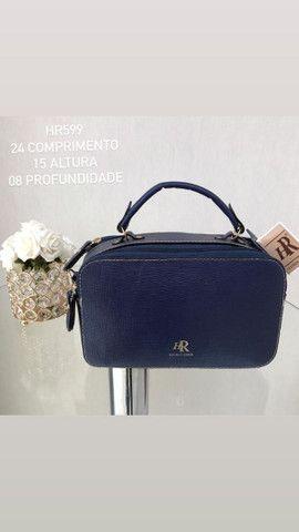 Bolsa em couro legítimo  - Foto 4