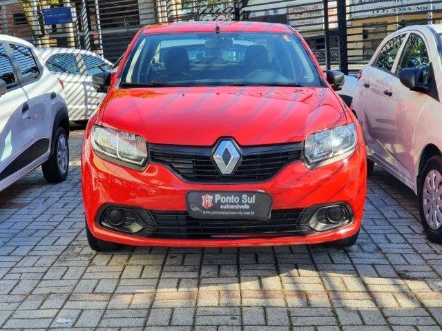 """Renault Logan Authentique 1.0 Flex """" Perfeito para Uber e 99 pop """"  - 2020 - Foto 3"""