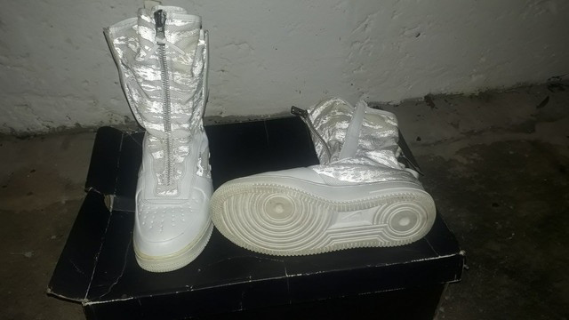 """Nike Men's Sf Af1 Hi PRM""""Winter Camo"""" (BR_40) - Foto 2"""