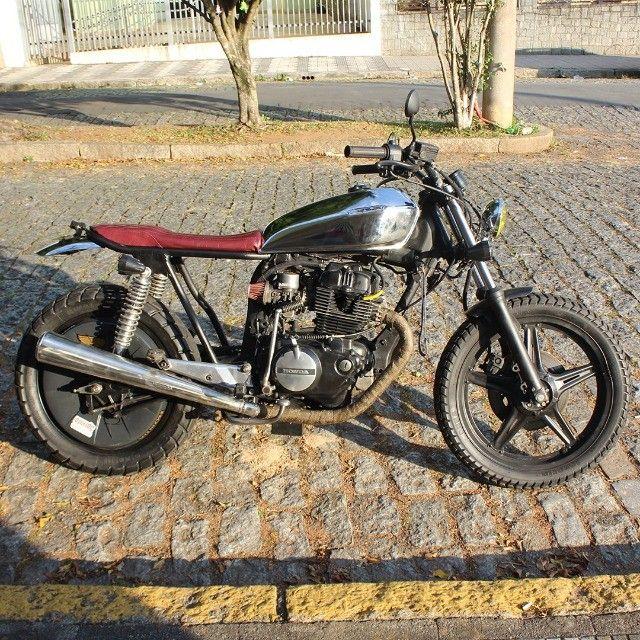 Moto Coffe Racer Custom - CB 400 82 Estilizada Tracker 1982 - Foto 2