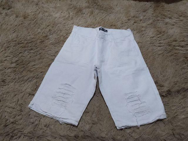Bermudas Jeans promoção  - Foto 3