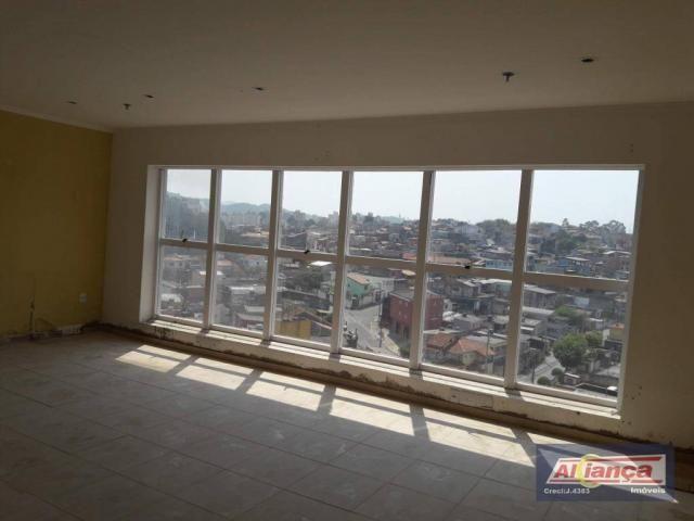 Sala comercial para locação, Vila Rio de Janeiro, Guarulhos - SA0335.