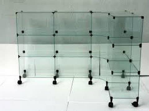 Estante De Vidro Temperado : Estante e balcão em vidro temperado equipamentos e mobiliário