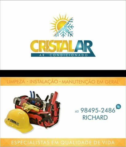 Limpeza instalação e manutenção em geral de ar condicionado