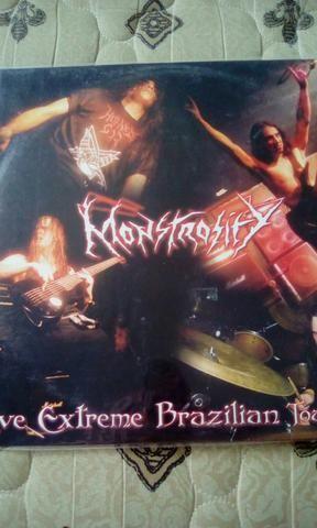 Lp Monstrosity apenas 1000 copias no brasil