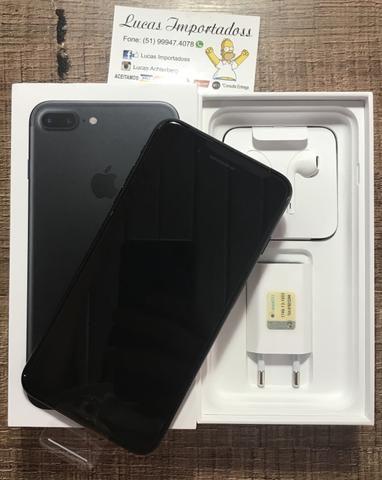 IPhone 7 Plus 128gb Black | lacrado | Nota fiscal