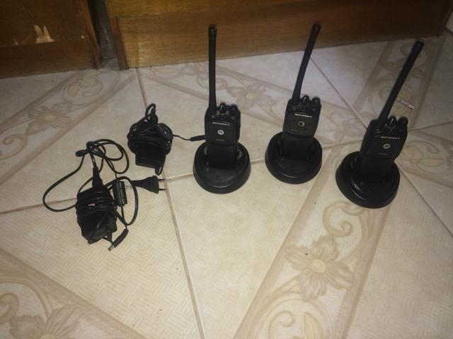 3 Radios HQ Motorola ep450s