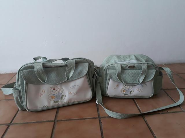 Conjunto de bolsas para bebê