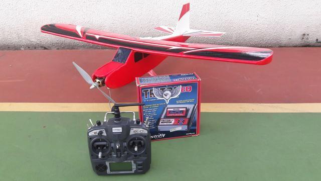 Aeromodelo pronto para voar!