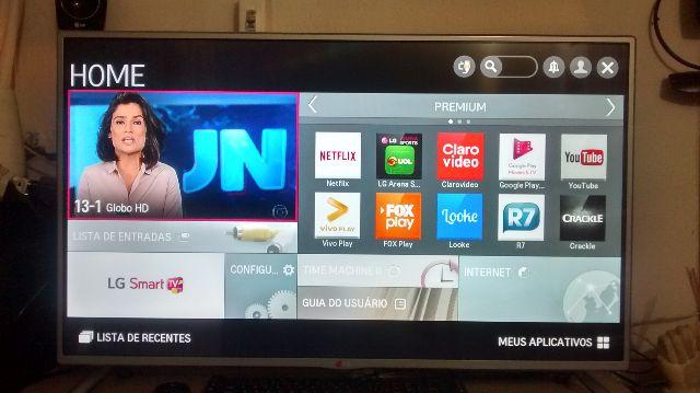 Smart tv lg 40 polegadas completa wifi integrado