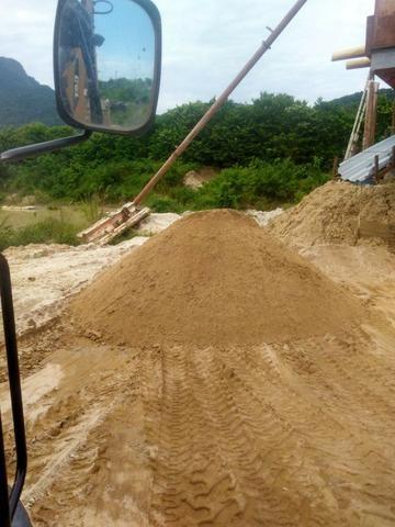 Areia Lavada, Barro, Saibro, capa de areola e areola direto da extração - Foto 2