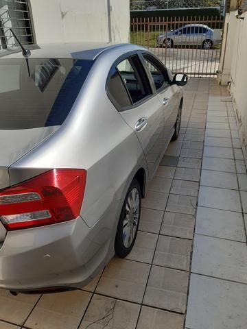 Honda City LX 1.5 AT completo, automático excelente tratar * por R$42.900 - Foto 6