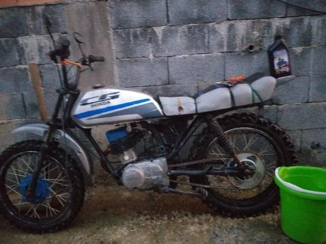 Honda cg 125cc pra trilha - Foto 2