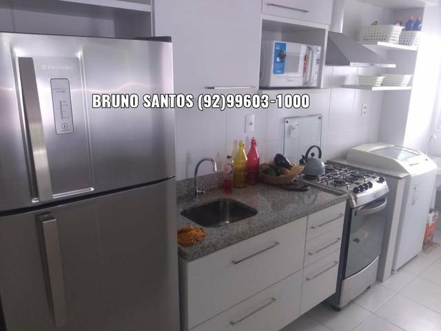 Family Morada do Sol / Aleixo. Pertinho do Adrianópolis. Apartamento com três quartos - Foto 3