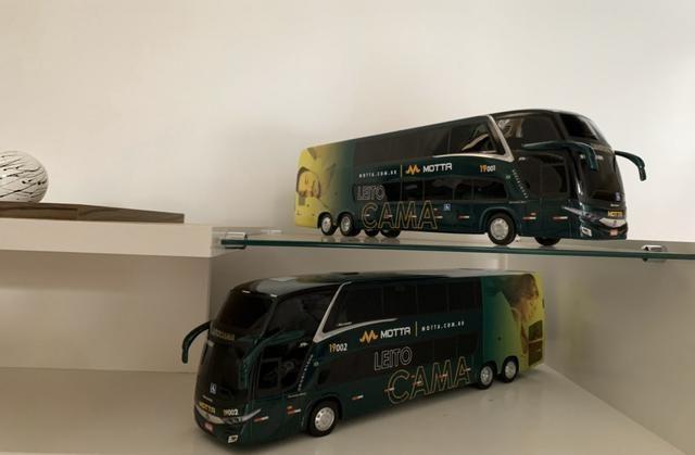Miniaturas Ônibus MOTTA Leito Cama - Foto 3