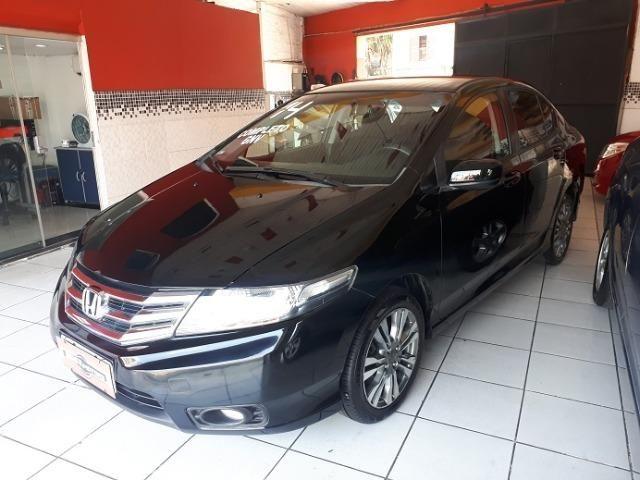 Honda City 2014/2014 LX Automático c/ GNV - Foto 2