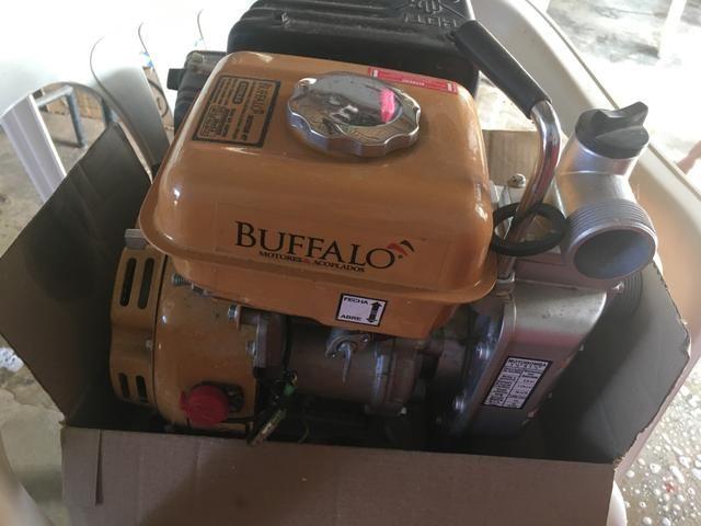 Motobomba com mangueira Buffalo - aceito cartão