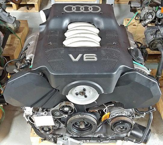 Motor Com Câmbio Audi A6 2.8 Com Garantia E Nota