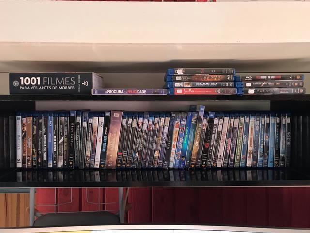 Filmes Blu-ray 3D e normais - coleção - Foto 4