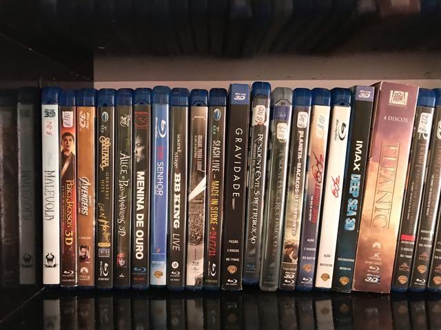 Filmes Blu-ray 3D e normais - coleção - Foto 5
