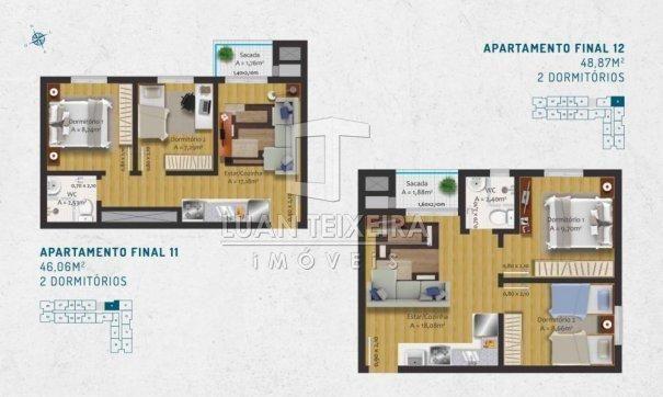 Duque 1128 - Apartamento em Lançamentos no bairro Fragata - Pelotas, RS - Foto 15