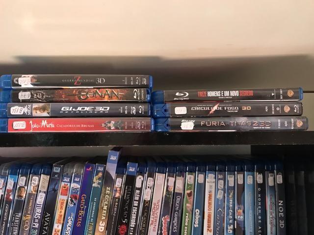 Filmes Blu-ray 3D e normais - coleção - Foto 3