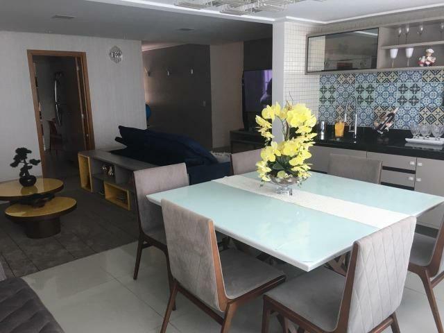 Apartamento 4/4 com suítes + Dependência - Condomínio Parque Tropical Odebrecht - Foto 10