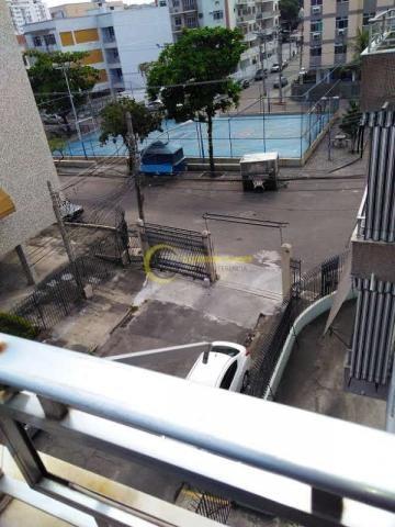 Apartamento 2 quartos com varanda em  Olaria - Quadra Azul - Foto 4