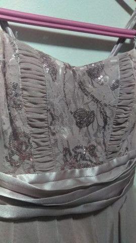 Vestido Curto Rose - Foto 3
