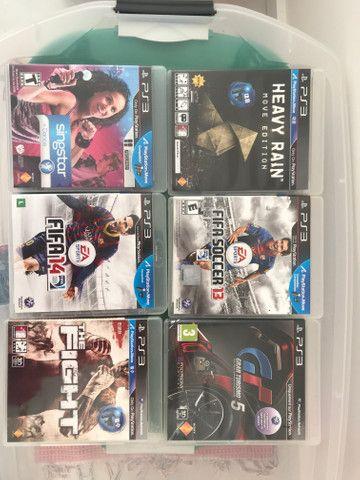 Jogos PS3 - originais - variados