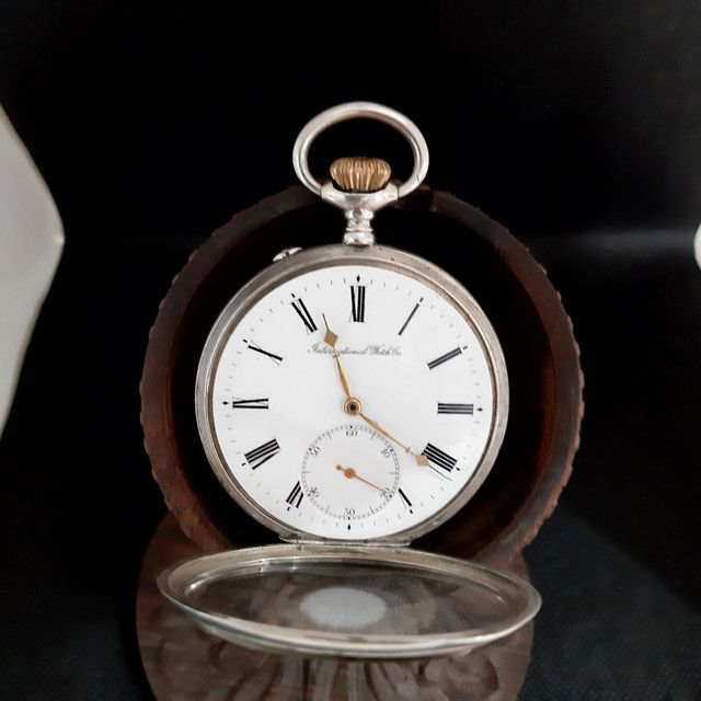 Relógio de Bolso Internacional Watch