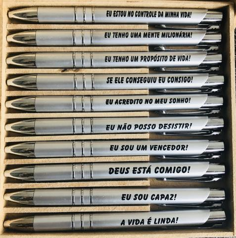 Lote com 1.000 canetas