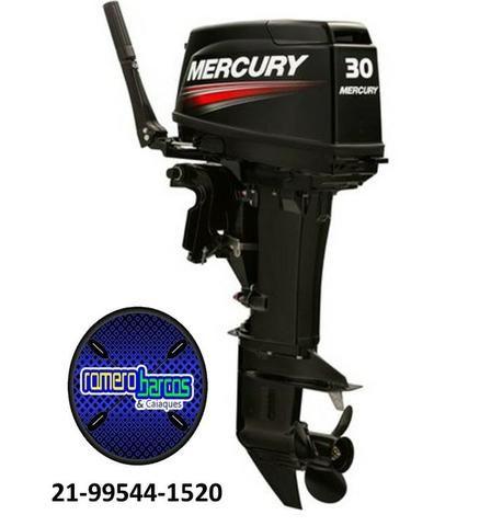 Motor 30 Hp Mercury 0km - Foto 4
