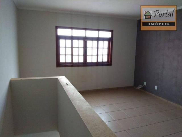 Chácara com 2 dormitórios para alugar, 250 m² por R$ 2.600/mês - Gramado Santa Rita - Camp - Foto 8