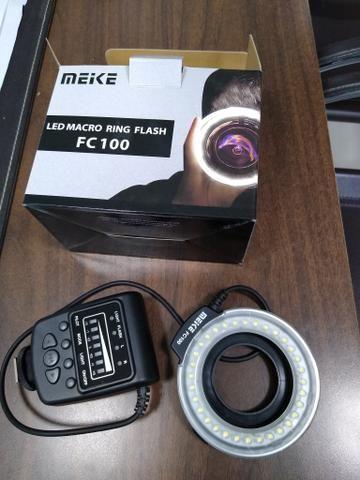 Nikon D3200 +flash circular - Foto 6