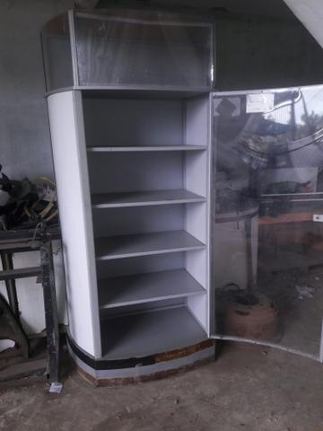 Armário de aço (vitrine) - Foto 2